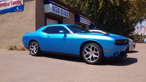 Charger tint by boise tint shop
