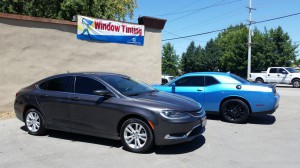 Boise tint shop completed tints