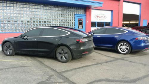 McLaren and Tesla